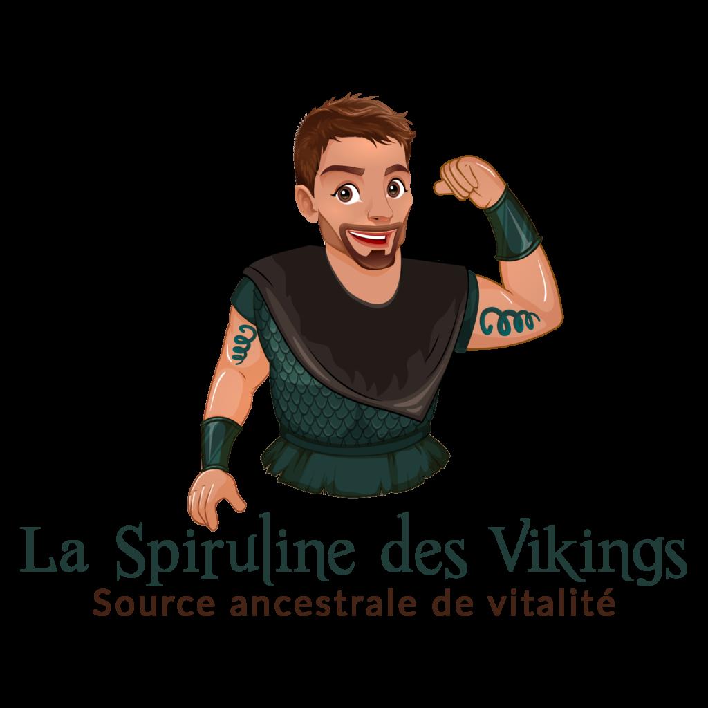 Le logo de la spiruline des Vikings